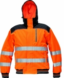 KNOXFIELD HI-VIS WINTER PILOT JACKET, vel. XXL