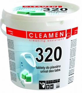 CLEAMEN 320 DEO TABLETY DO PISOÁRU, 1.5KG